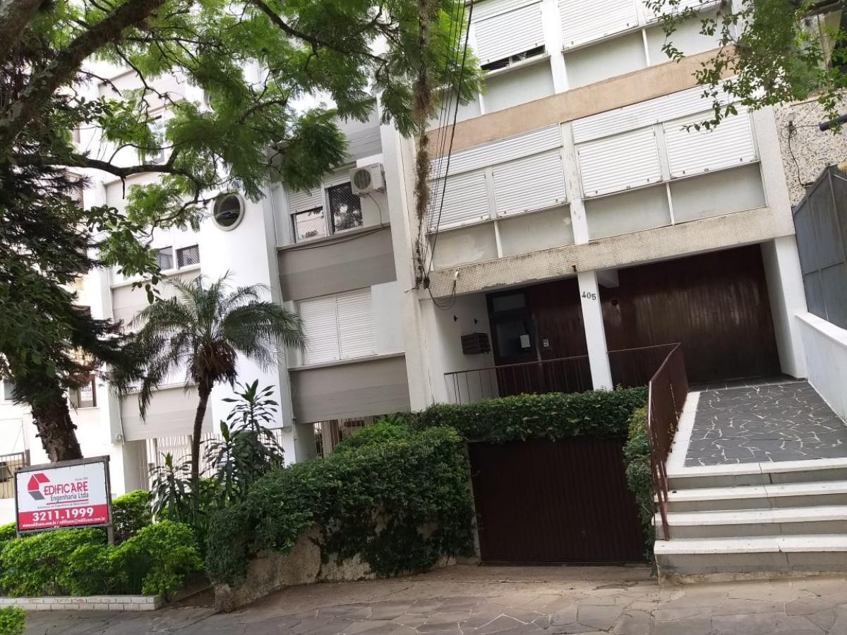(01) UM APARTAMENTO - Edificio Corte Real - Rua Corte Real , nº 405 - POA/RS