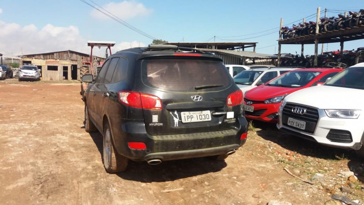 Hyundai Santa Fé - Ano/modelo 2008